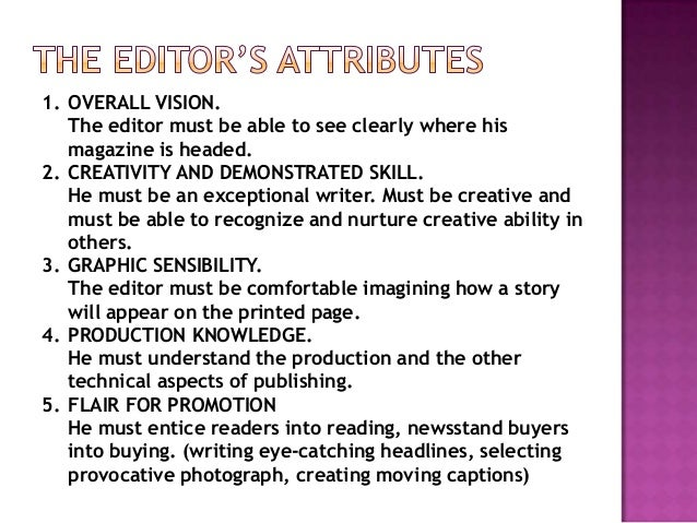 digital editor job description