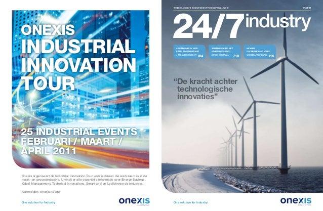 technologische innovaties en procesoptimalisatie  2 technologische innovaties en procesoptimalisatie  01/2011 One so...
