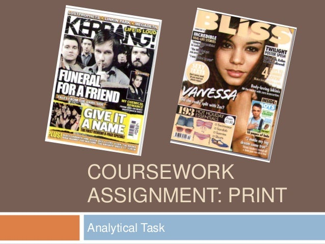 COURSEWORK ASSIGNMENT: PRINT Analytical Task