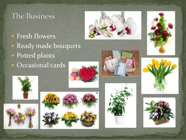 Floral design business plan