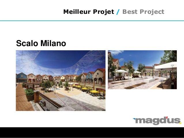 Meilleur Projet / Best Project Scalo Milano