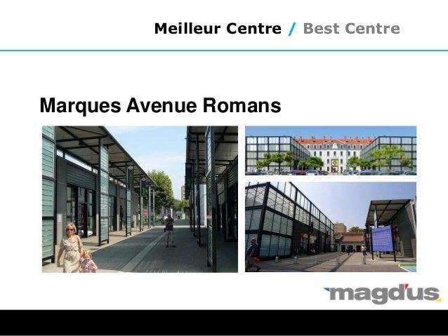 Meilleur Centre / Best Centre Marques Avenue Romans