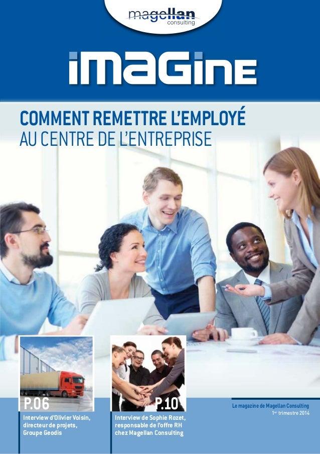 Commentremettrel'employé aucentredel'entreprise Interview d'olivier Voisin, directeur de projets, Groupe Geodis Interview ...