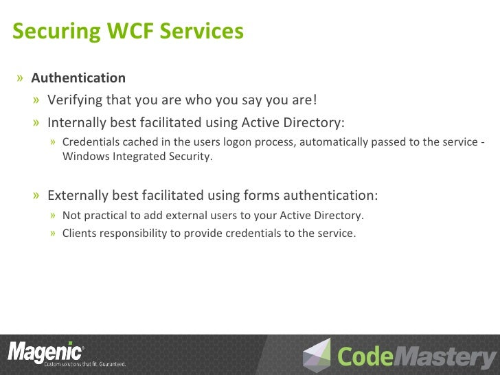 host a wcf service in a managed application