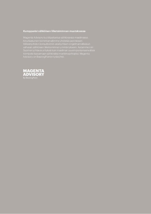 Magenta Advisory Suomen Digimenestyjät 2017 Slide 2