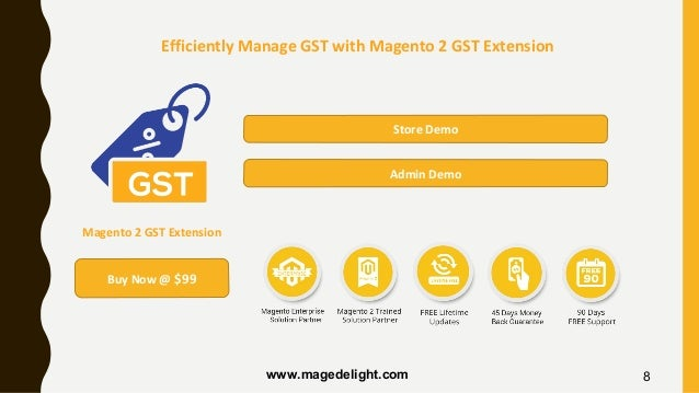 Efficiently Manage GST with Magento 2 GST Extension