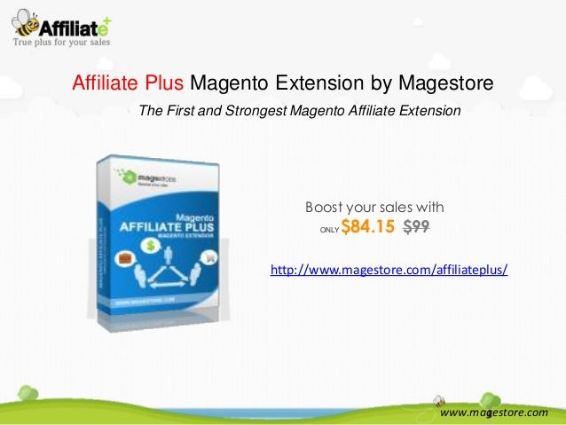 Affiliate Plus Magento Extension by Magestore The First and Strongest Magento Affiliate Extension  Boost your sales with O...