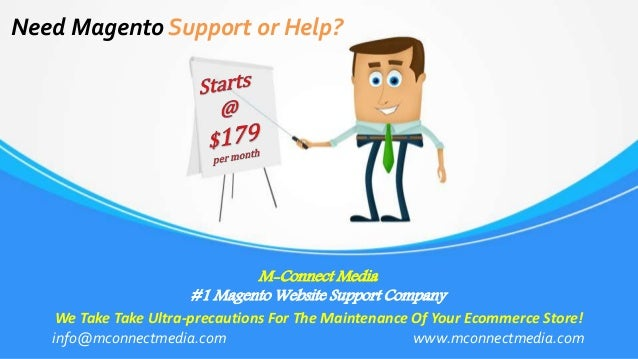 M-Connect Media #1 Magento Website Support Company Need Magento Support or Help? We Take Take Ultra-precautions For The Ma...