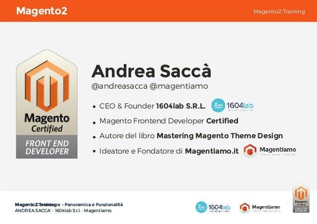 Magento2 Training Slide 2
