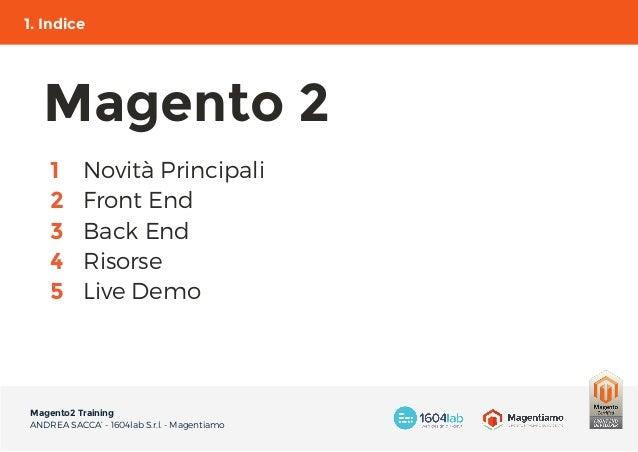 Magento2 Training Slide 3