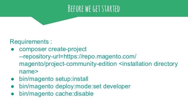 Magento 2 - hands on MeetMagento Romania 2016