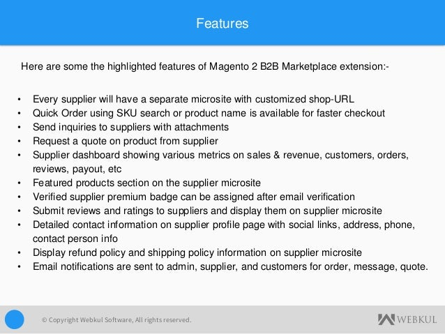 Magento 2 B2B Marketplace