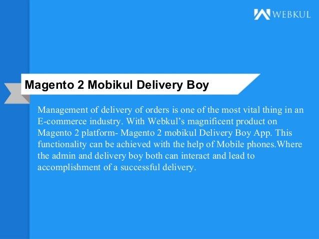 Magento 2 mobikul delivery boy