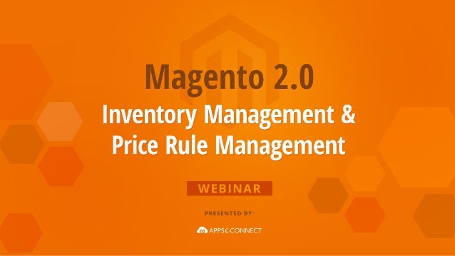 Magento 2.0 is the next generation ecommerce platform. Its inventory management and pricing rule management capabilities a...