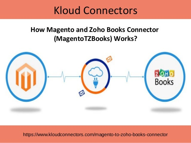 Kloud Connectors https://www.kloudconnectors.com/magento-to-zoho-books-connector How Magento and Zoho Books Connector (Mag...