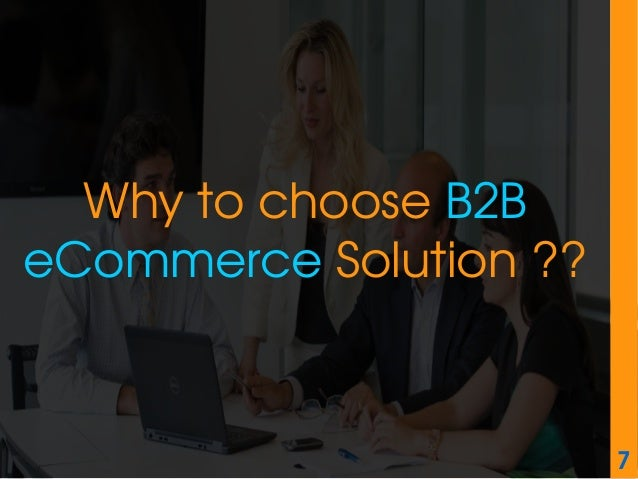 Dissertation on b2b ecommerce
