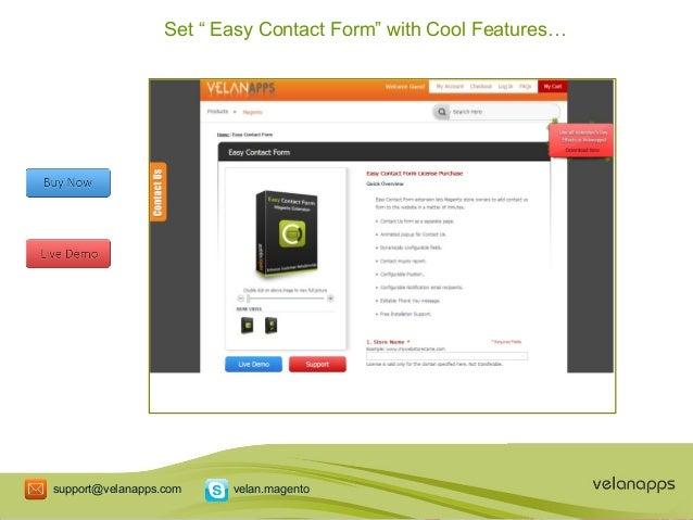 Magento Contact Form Extension, Magento Extension, Magento Contact Fo…