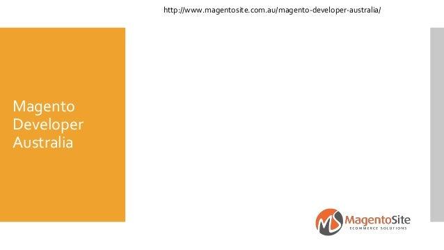 Magento Developer Australia http://www.magentosite.com.au/magento-developer-australia/