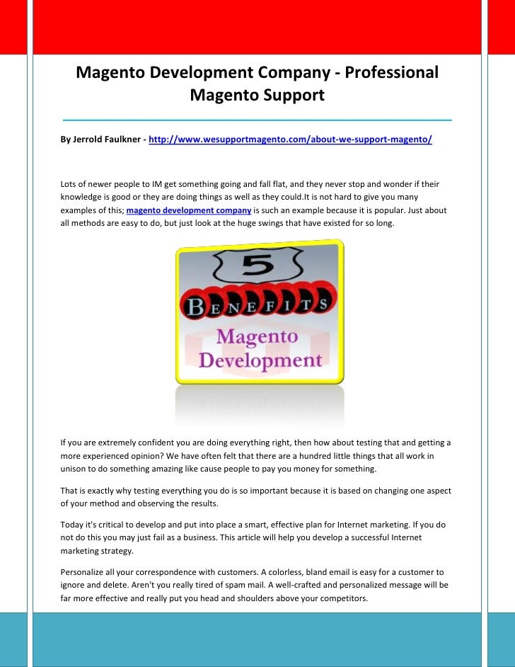 Magento Development Company - Professional                Magento Support_________________________________________________...