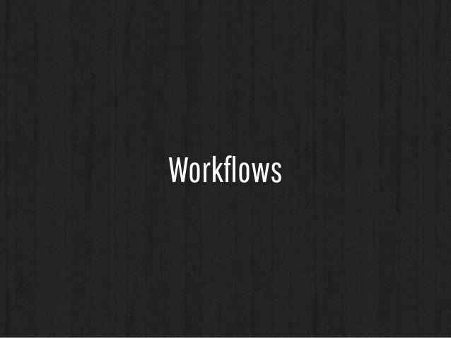 developer  (vagrant)  git  (bitbucket)  hipchat jenkins  fabric  develop  integration  staging  prod  Environments
