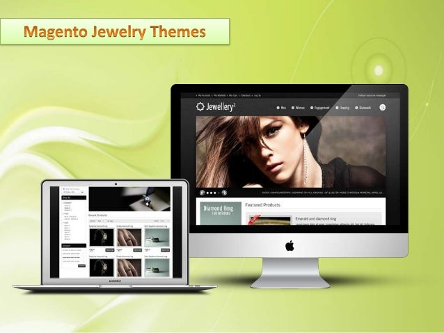 Magento Jewelry Template Download Jewelry Themes for Magento by ST that brings an optimal and conversion performance on yo...