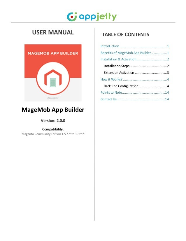 magento mobile app activation key