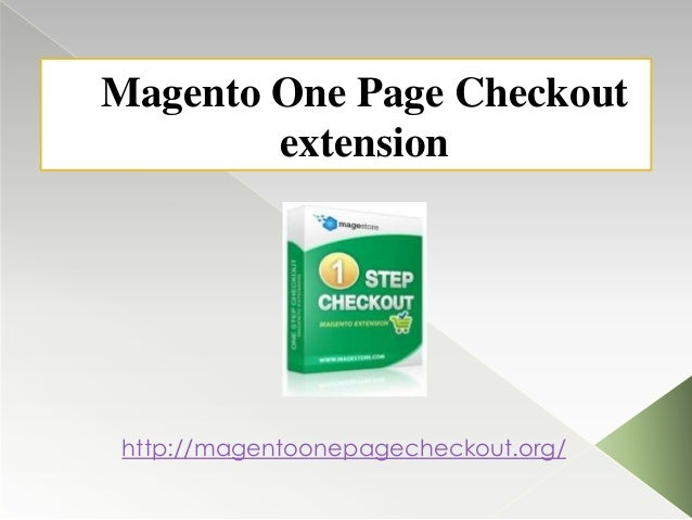 Magento One Page Checkout extension  http://magentoonepagecheckout.org/