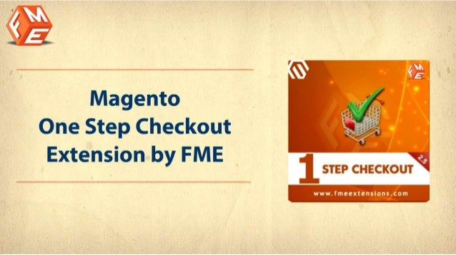 Magento One Step Checkout Extension by FME