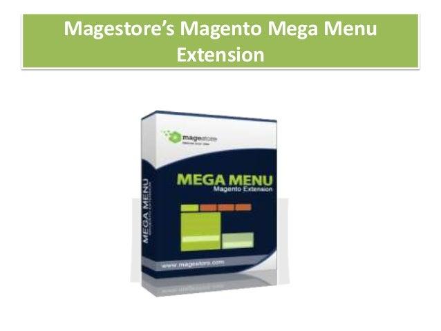 Magestore's Magento Mega MenuExtension