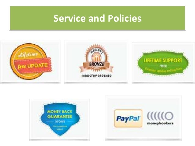 Service and Policies