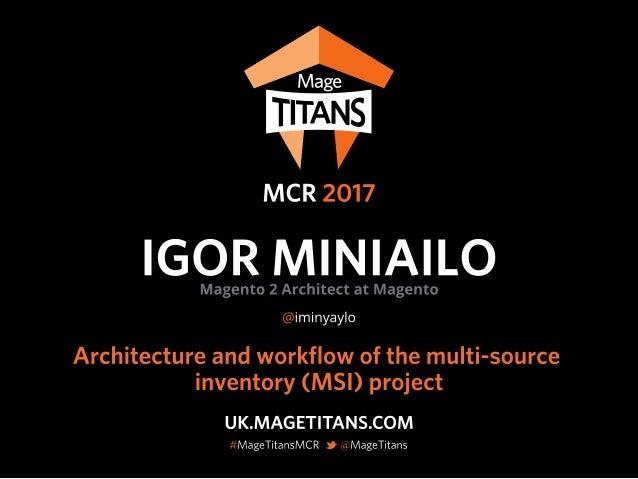 © 2017 Magento, Inc. Page | 1 API Design Best practices Igor Miniailo Magento 2 Architect