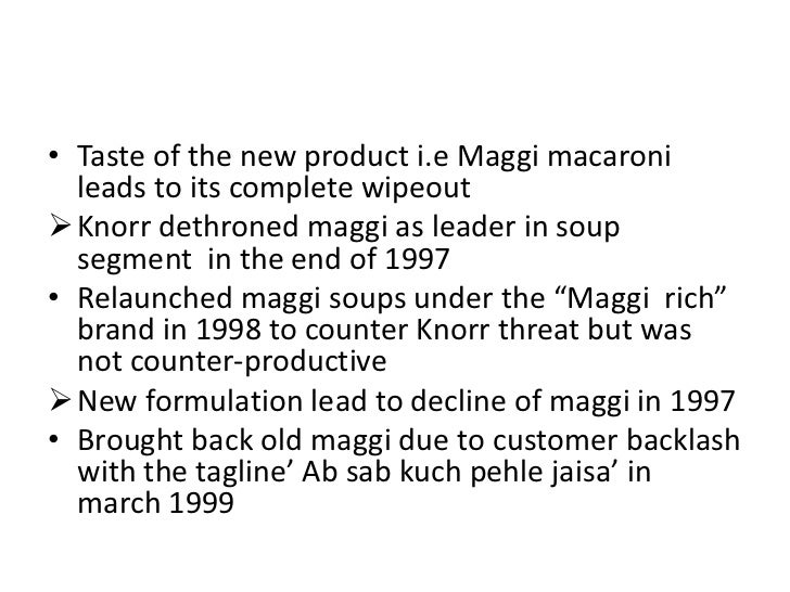 maggi segmentation Market segmentation is first step in strategy development  how should the  brand maggi be placed in consumer's mind essential to.
