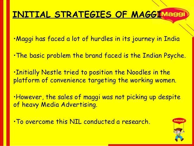 marketing mix of maggi noodles This marketing plan analyses the current marketing mix of maggi noodles documents similar to maggi noodles marketing plan skip carousel.