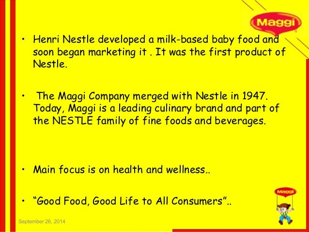 primary packaging of maggi noodles