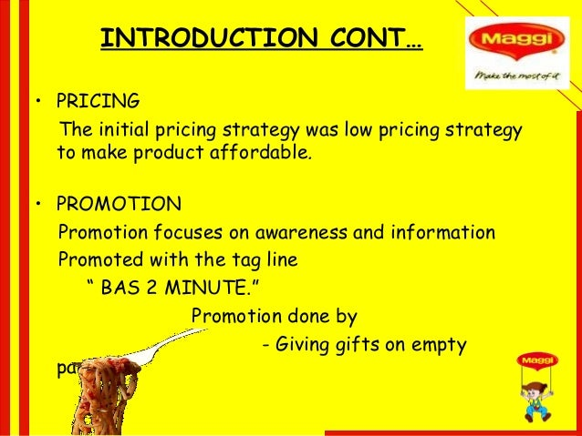 Maggi marketing strategies