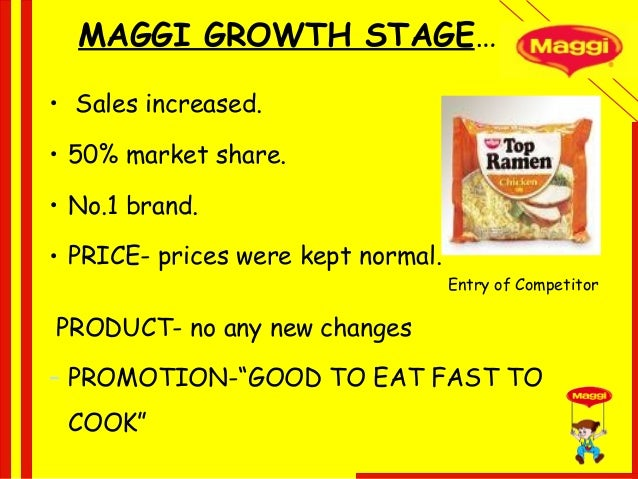 what the distribution strategies of maggi brand