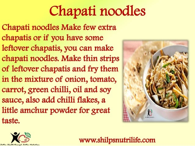 Healthy alternatives to our favourite MAGGI   Slide 2