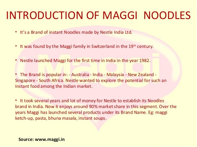 stpd analysis of maggi Overview of maggi noodles positioning and repositioning advertisement sales promotion analysis of the vegetable atta noodles and masala maggi are the most popular variants of maggi maggi noodles has not yet been initial strategy product protection plc,swot,stpd analysis market.