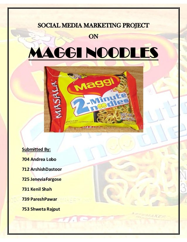 STP and Differentiation Analysis of Maggi