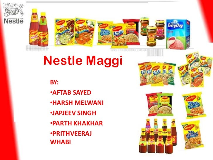 maggi marketing project Marketing manager maggi bei nestl combination of advanced marketing concepts with theories  junior trade marketing project manager at nestlé nespresso sa.