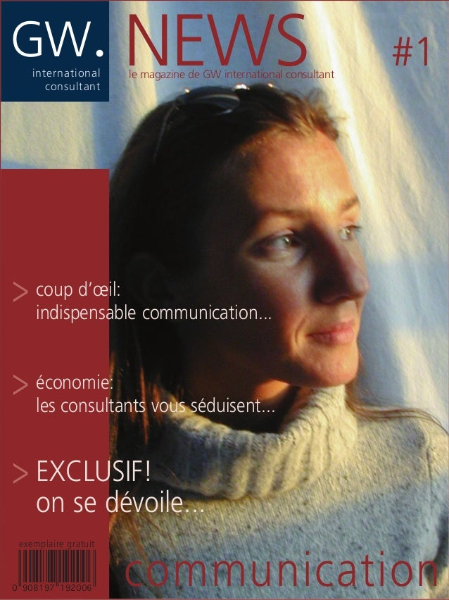 GW.international consultant communication NEWS #1 > coup d'œil: indispensable communication... > économie: les consultants...