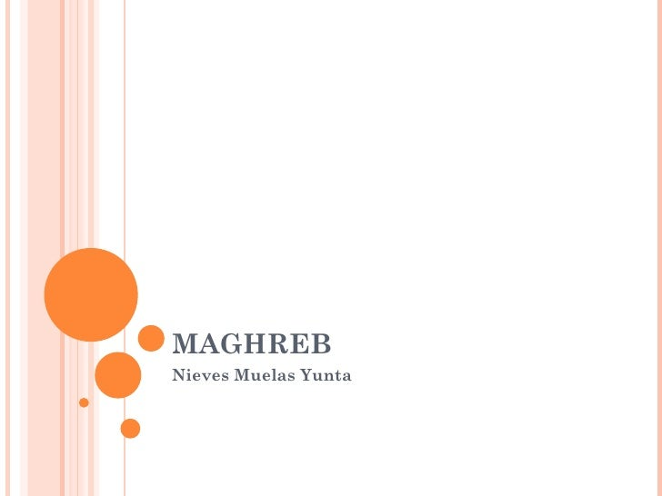 MAGHREB Nieves Muelas Yunta