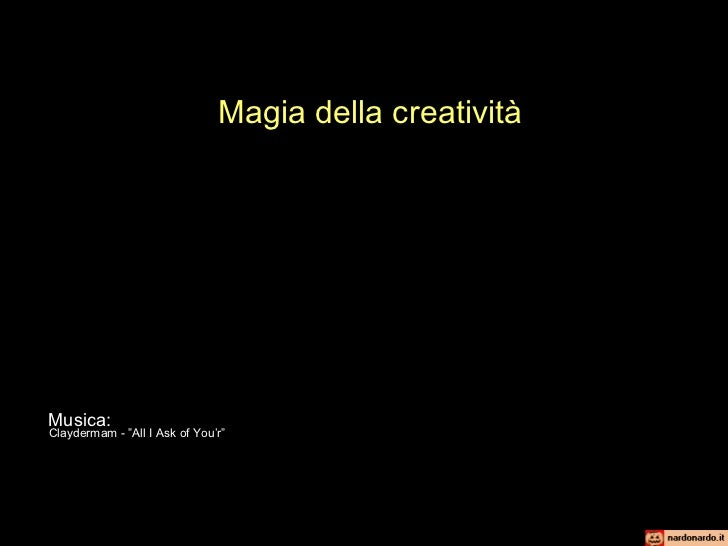 """Claydermam - """"All I Ask of You'r"""" Musica: Magia della creatività"""