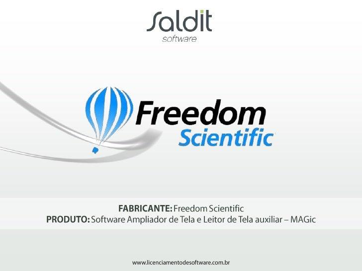 Software MAGic – Freedom Scientific