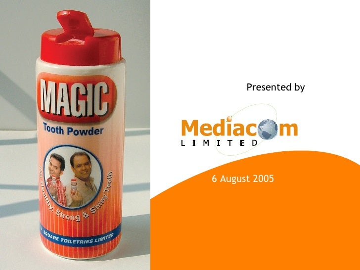 6 August 2005 Presented by