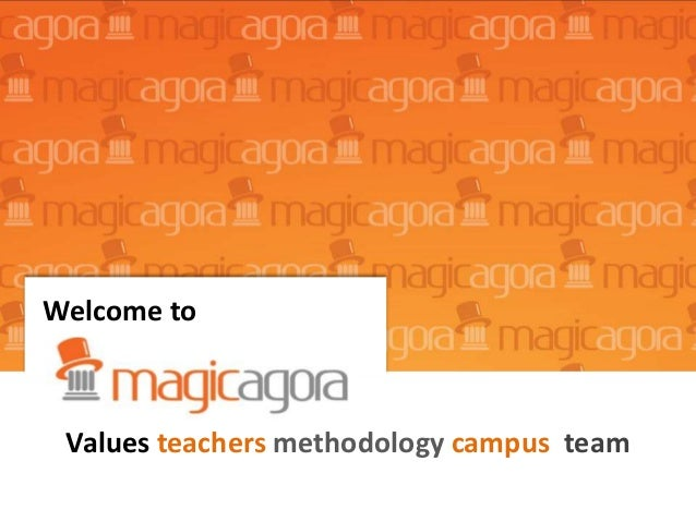 Welcome to Values teachers methodology campus team
