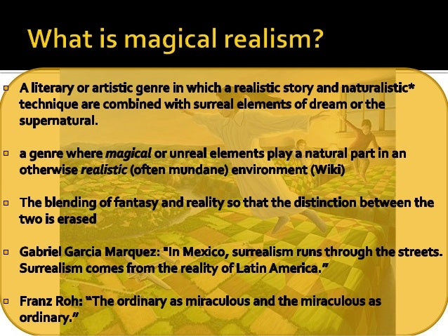 House of spirits magical realism essay