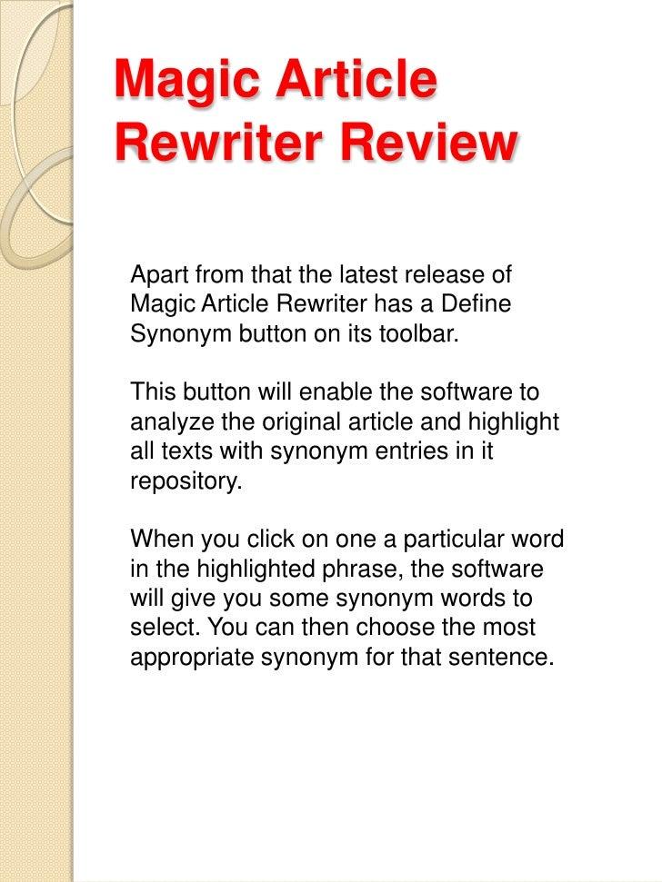 magic content rewriter blackhat