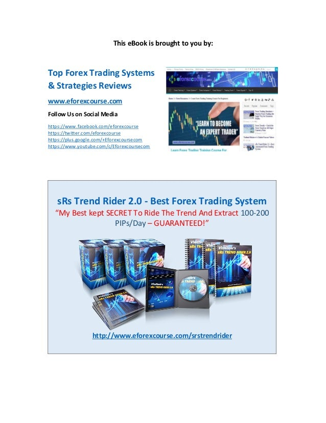 Share trading strategies pdf