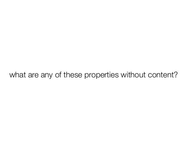 no content   content